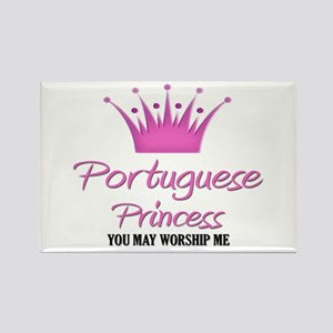 Portuguese Princess Rectangle Magnet